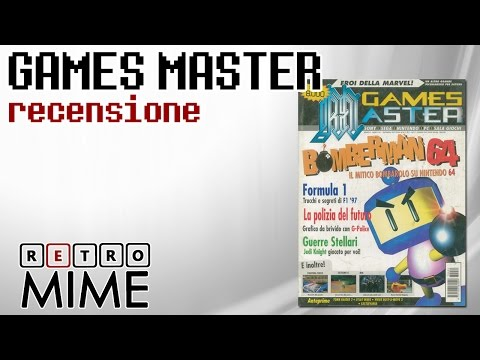 RetroMime - Analisi Rivista Games Master