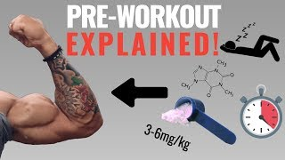 Pre-Workout Supplements: How To PROPERLY Use It To Boost Performance (Avoid Side Effects!)