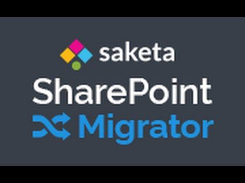 Saketa SharePoint Migrator