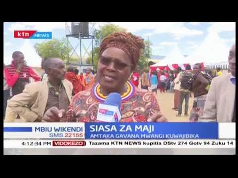 Mbunge Alice Wahome awaomba viongozi wa Murang'a kuingilia kati mzozo wa maji katika kaunti hio