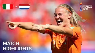 Italy v Netherlands - FIFA Women's World Cup France 2019™