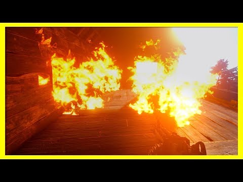Rust Raids: BURN BABY BURN