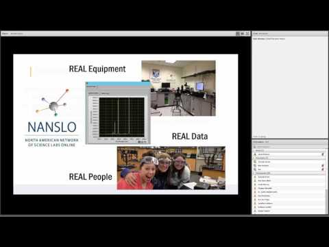 NANSLO Remote Web-Based Science Labs: Real Science in Real Time