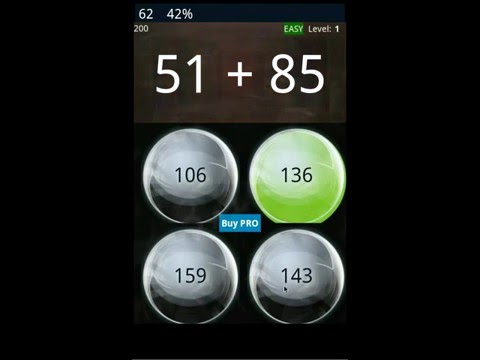Video of Math Workout - Game (free)