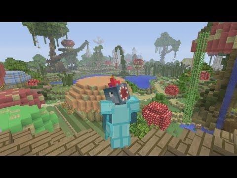 Minecraft Xbox - Hunger Games - Enchanted Kingdom
