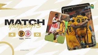CAF CL | Quart de finale Aller : Kaizer Chiefs 4 – 0 Simba SC