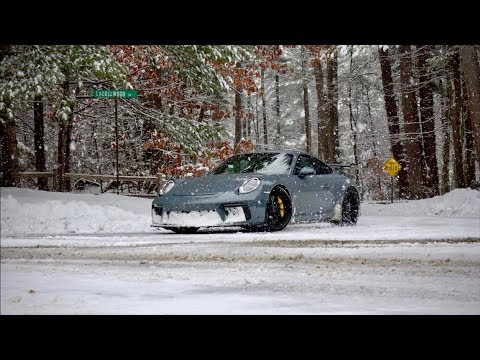 Can You Daily Drive The Porsche 991.2 GT3 In Winter? - Manual Transmission!
