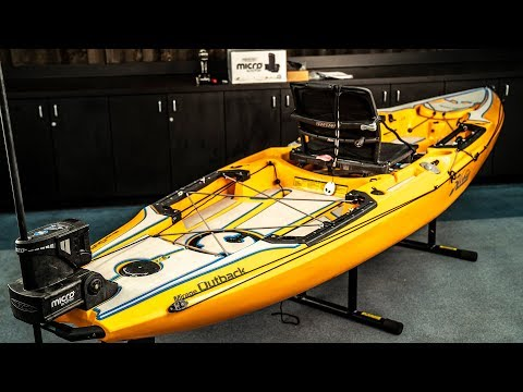 Power-Pole Installation - Hobie Outback 2019