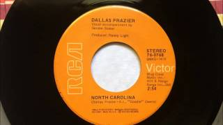 North Carolina , Dallas Frazier , 1972 Vinyl 45RPM