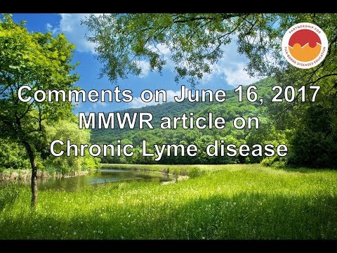 Responses Countering CDC's MMWR Limiting Lyme Disease Treatments