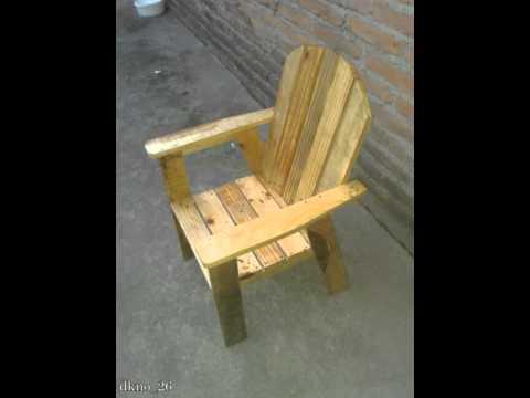 Fabricar silla de madera para niños