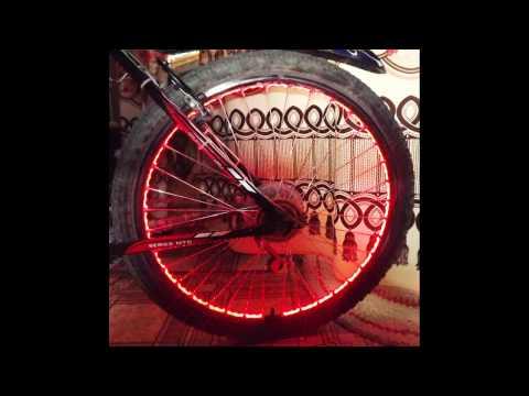 """велотюнинг """"подсветка колес"""" ,"""" токоприёмный диск"""""""