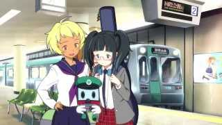 京都市営地下鉄「地下鉄に乗るっ」CM第2弾【京都のまちは地下鉄で。】