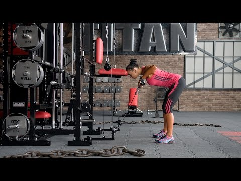 T1-X-149 - Cable Bent-over Rear Lateral Raise