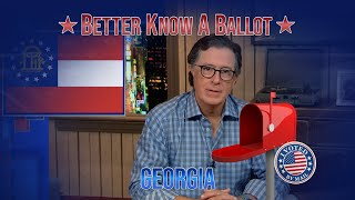 """Georgia, Confused About Voting In The 2020 Election? """"Better Know A Ballot"""" Is Here To Help!"""