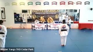 Black Belt Testing - 3 pm - Tim, Sarok, Ranjo, Aakash
