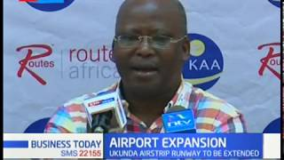 Ukunda Airstrip runway to be extended, efforts aimed at boosting tourism