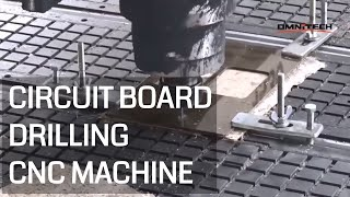 Circuit Board Cutting and Drilling With CNC Router China