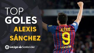 Alexis Sánchez: Golazos Con El FC Barcelona En LaLiga Santander