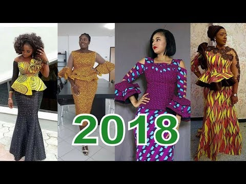 The Most Popular #Ankara Skirt and Blouse Styles for #Women in 2018
