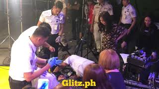 Maymay Entrata shows concern for a fan who fell at ASAP Chillout - June 24, 2018