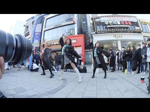 [직캠찍는 직캠] LOVE BOMB | 프로미스나인 - 레이디비(Lady B) 홍대 버스킹 chulwoo 직…