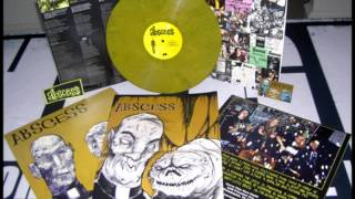 Abscess - Burn, Die And Fuckin' Fry (Seminal Vampires And Maggot Men Deluxe 12-Inch Gatefold Record)