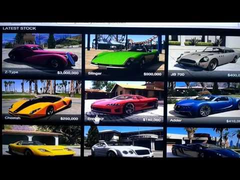 Video Rahasia mendapatkan mobil mewah gratis di gta5