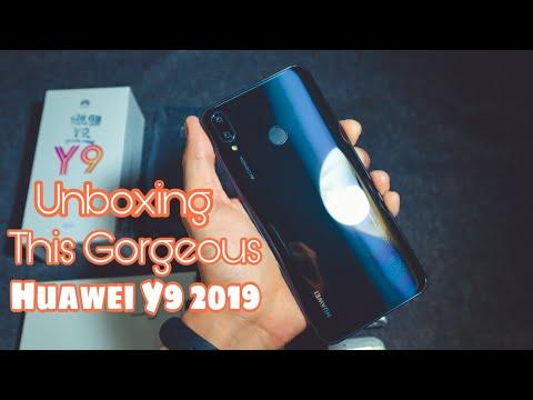 Huawei Y9 2019 Unboxing | English