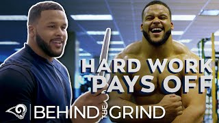 """Hard Work Pays Off"" // Aaron Donald's Workout Dungeon, Knife Training 