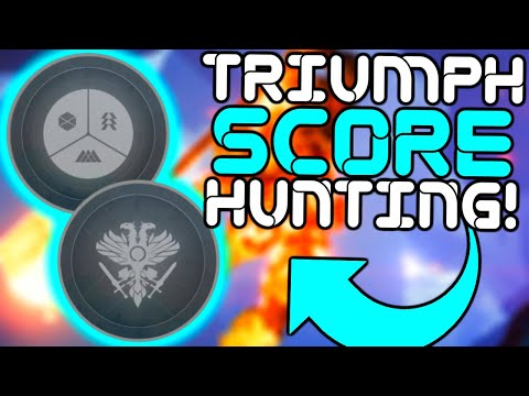 Destiny 2 - Road to 90,000 Triumph Score!!