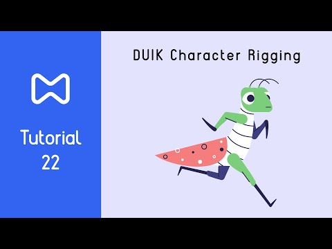Duik Bassel 16 Tutorial [NEW FEATURES] Best Rigging Tool