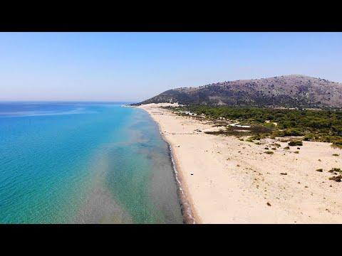 KALOGRIA BEACH, ACHAIA (DRONE). ΚΑΛΟΓΡΙΑ - Η ΦΗΜΙΣΜΕΝΗ ΠΑΡΑΛΙΑ ΤΗΣ ΑΧΑΪΑΣ.