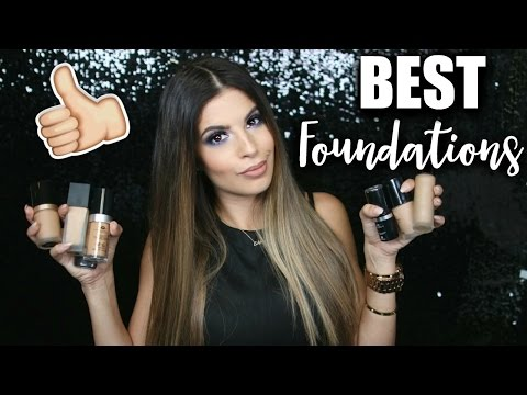 BEST FOUNDATIONS EVER 2016  DRUGSTORE & HIGHEND