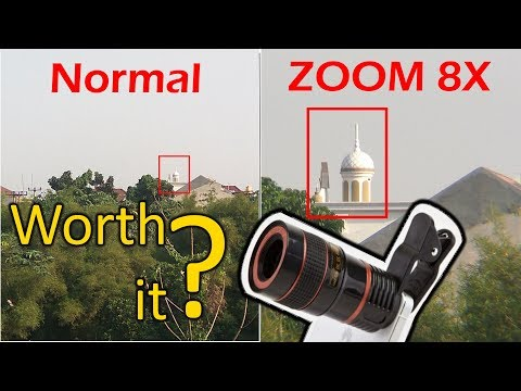 $10 Phone Optical Zoom Lens Review