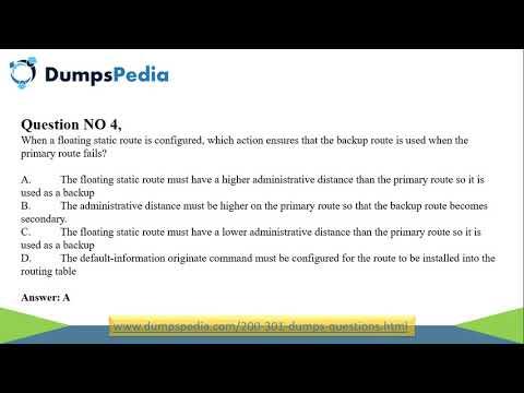 Cisco CCNA 200-301 Dumps - YouTube
