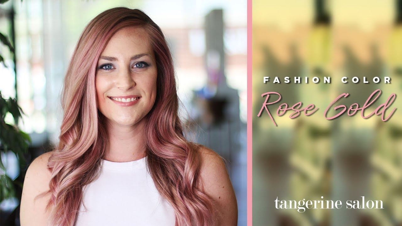 Tangerine Salon | Rose Gold