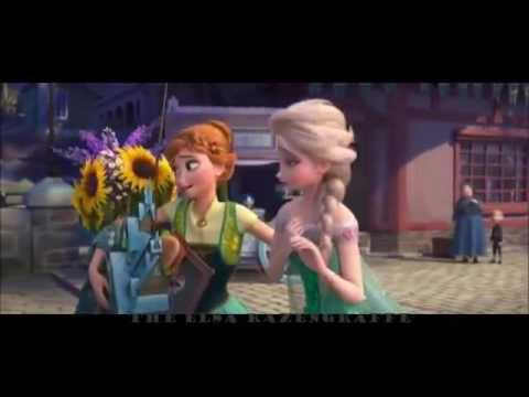 """Песня Эльзы :""""Я этот день тебе дарю""""(Холодное торжество)"""
