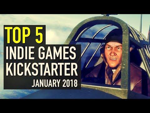 Top 5 Indie Games on Kickstarter - January 2018