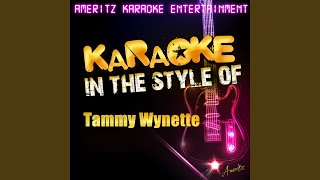 Almost Persuaded (In the Style of Tammy Wynette) (Karaoke Version)