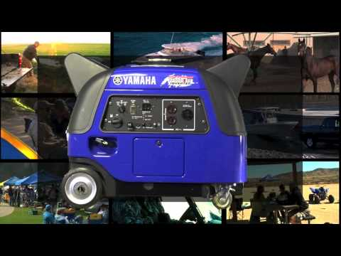 Yamaha EF3000iSEB Generator in Zephyrhills, Florida - Video 1