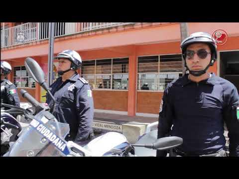 Fortalecen Escuadrón de Motopatrullas de Chimalhuacán
