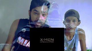 X-MEN: APOCALYPSE   Official Trailer [HD] (REAÇÃO)