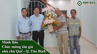 Tân Gia Nhà Chú Quế | Xây Nhà Trọn Gói Quận Tân Bình