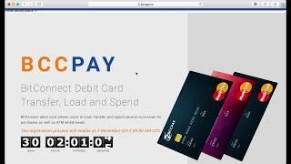 BCCPay   дебетовая карточка для BitConnect