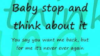 Never Again by Danny Fernandes Lyrics