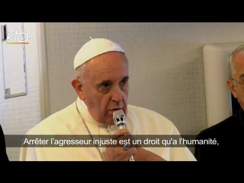 La position du Pape sur l'Irak