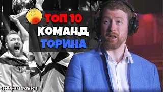 Топ 10 команд в CS:GO -Thorin
