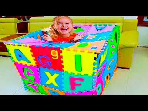 Abc Song | Alphabet Songs Phonics | A is for Apple  Emma Pretend Play