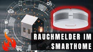 Rauchmelder in KNX System Integration, Anbindung I Gira Dual Q mit KNX Schnittstelle I Zennio Z40